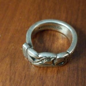 Vintage Community spoon ring